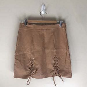 Missguided Tan Skirt - NWT